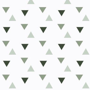 triangles // green