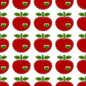 applique apple_red
