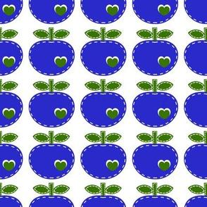 applique apple_blue