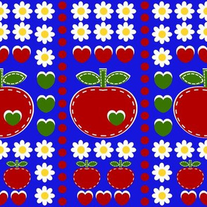 applique appleword_blue