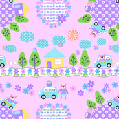 Drive Bear_pink