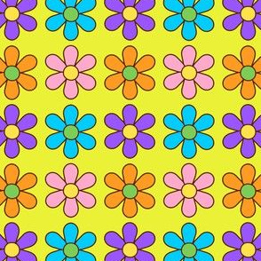 colorful flowers_yellow