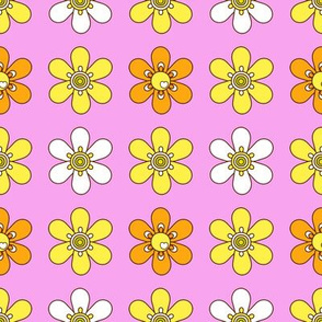 retro floret_pink