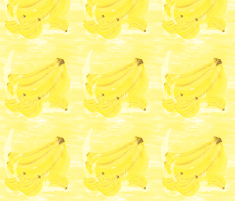 Banana Splash fabric by boissindesign on Spoonflower - custom fabric