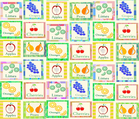 IN_THE_GOOD_OLD_SUMMER_TIME fabric by soobloo on Spoonflower - custom fabric