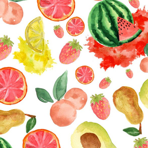Fruits  Watercolor