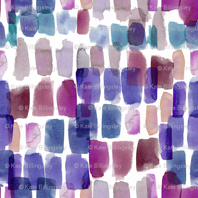 Crystal Watercolour Abstract