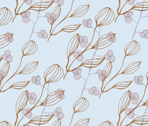 Nature Pattern fabric by 2329_design on Spoonflower - custom fabric