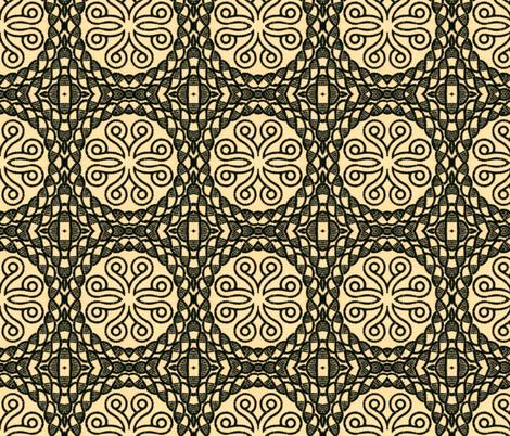 moyen age 63 fabric by hypersphere on Spoonflower - custom fabric