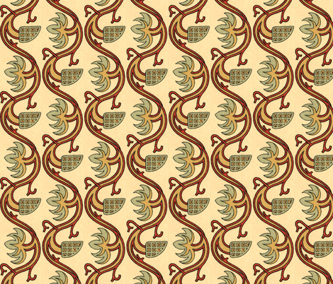 moyen age 68 fabric by hypersphere on Spoonflower - custom fabric