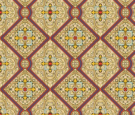moyen age 72 fabric by hypersphere on Spoonflower - custom fabric