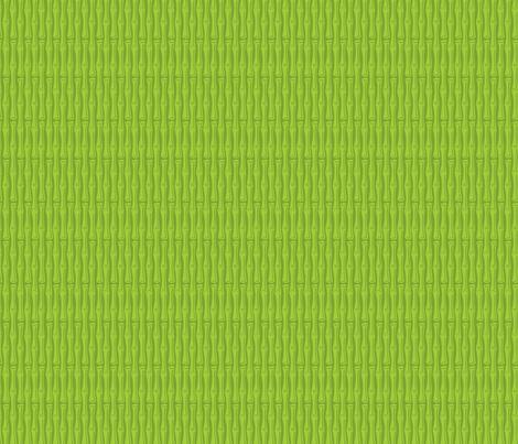 Kitsch Tiki - Framed Bamboo - Green fabric by shannanigan on Spoonflower - custom fabric