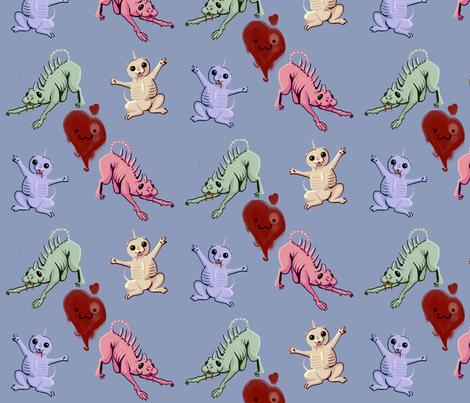Chupacuties fabric by okasen on Spoonflower - custom fabric
