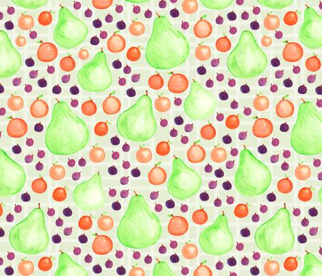 Each Peach Pear Plum fabric by jc_textiledesign on Spoonflower - custom fabric