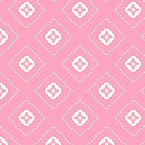Stitch on Pink