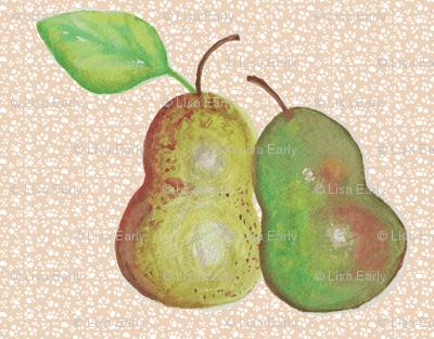 Nestling Pears