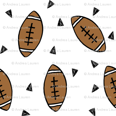 football fabric // sports sport football design american football tailgating fabric
