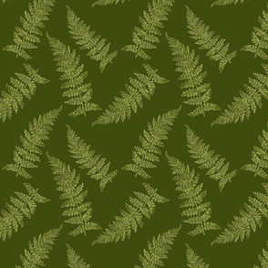 vintage_ferns-dark green
