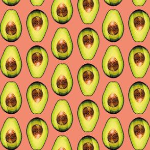 avocados in orange