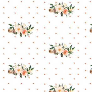Peachy Floral