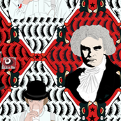 harlequin beethoven and droog