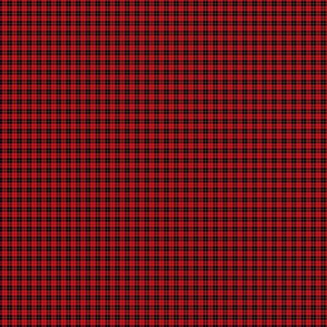 "Wallace clan tartan, 1/4"", 1:12 scale  fabric by weavingmajor on Spoonflower - custom fabric"