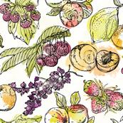 Summer Harvest Watercolour