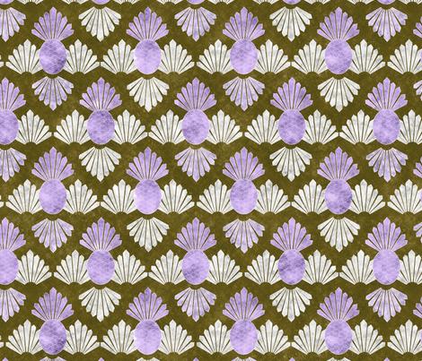 deco pineapple 6 fabric by kociara on Spoonflower - custom fabric