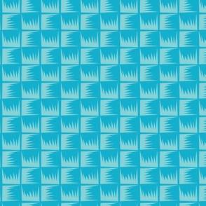 Kitsch Tiki - Luau Weave - Aqua