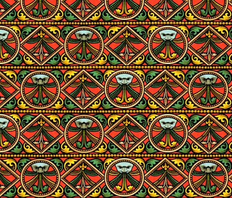 moyen age 79 fabric by hypersphere on Spoonflower - custom fabric