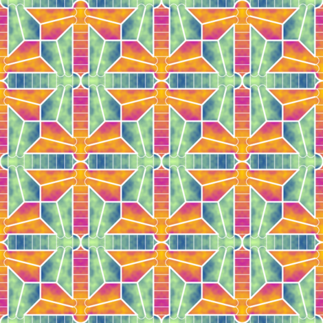06424773 : dragonfly 4gX watercolour fabric by sef on Spoonflower - custom fabric