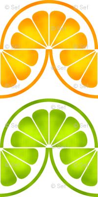 06425174 : citrus slices zigzag