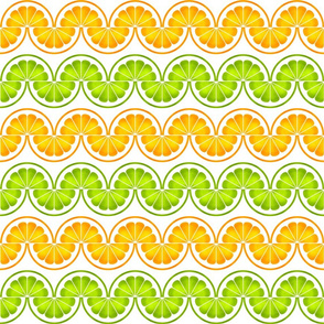 06425174 : citrus slices zigzag