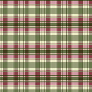 Autumn Plaid repeat - pink