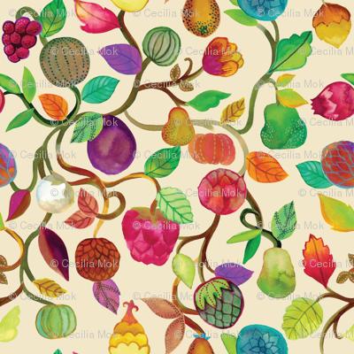 Exotic Orchard {Cream}