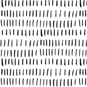 Black Watercolor Lines