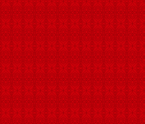 My Calling is Culture (Red) fabric by soul_curiosity on Spoonflower - custom fabric