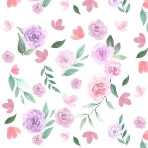 Pastel Floral Garden