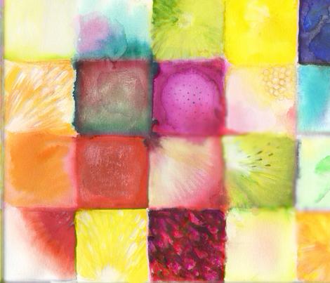 fruit_blocks fabric by ipek on Spoonflower - custom fabric