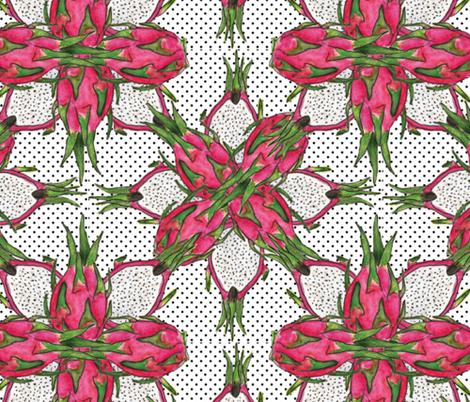 Whimsical_Dragon_Fruit fabric by tretyak_ol on Spoonflower - custom fabric
