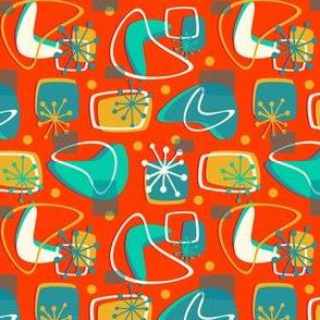 Boomerang On Orange