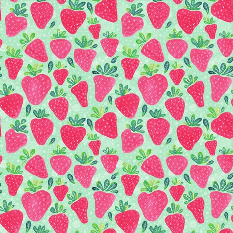 Rrrrwatercolor_strawberries_pink_shop_preview