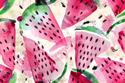 watery watermelons