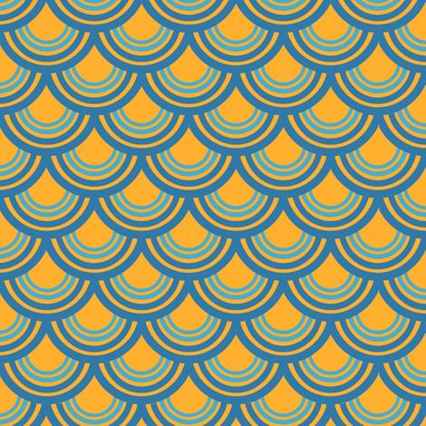 Goldfish Print  fabric by tira's_space on Spoonflower - custom fabric