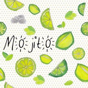 mojito and lemon