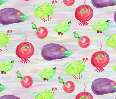 Don't Pickle Me!  fabric by rhondadesigns on Spoonflower - custom fabric