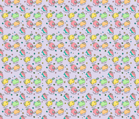 Fruiticorns! fabric by how-store on Spoonflower - custom fabric