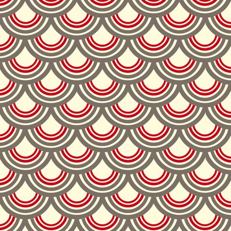 Samurai Print fabric by tira's_space on Spoonflower - custom fabric
