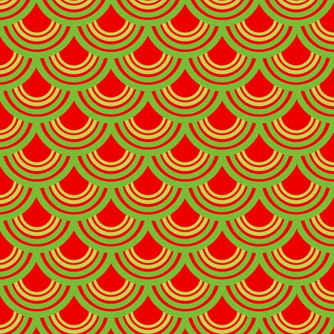 Watermelon Print fabric by tira's_space on Spoonflower - custom fabric