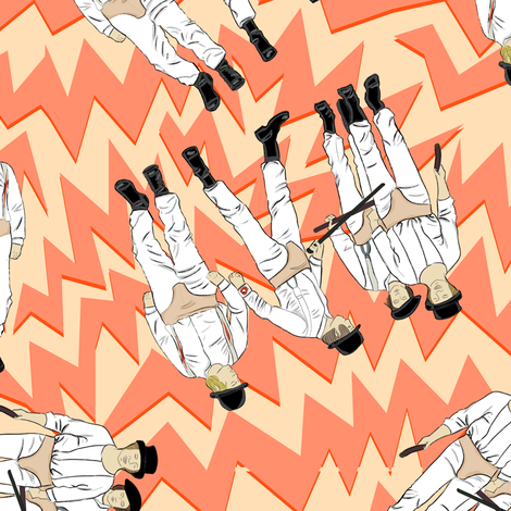 4 droogs fabric by susiprint on Spoonflower - custom fabric